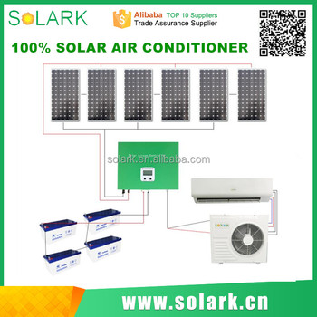 18000BTU Cooling Capacity Off Grid 48v Solar Air Conditioner with good price