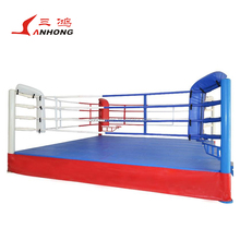 Excellent quality different size square floor boxing wrestling ring