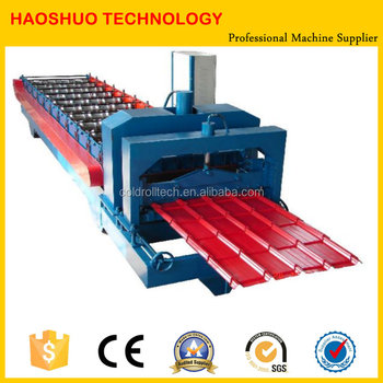 Automatic metal roof tile roll forming machine,making machinery