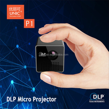 2016 Newest DLP micro projector 1080P support mini projector,micro projector,dlp projectorr P1
