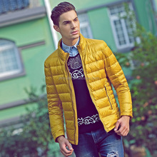 New winter men's down jackets and coats brand Light warm down coat collar men's clothing wholesale for men