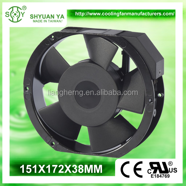 High Performance Power Supply Waterproof 6-Inch Cooling Fan