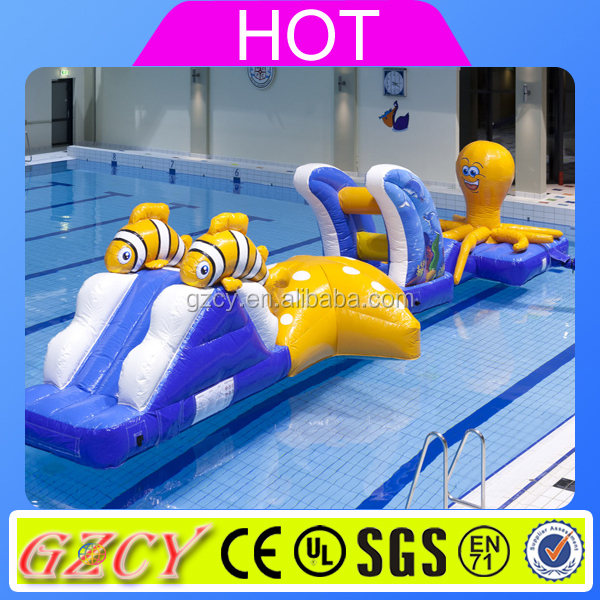 Sea World Inflatable Pool Floating Obstacle For Sale