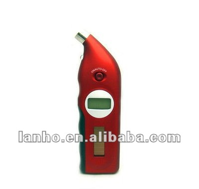 New Solar Power Digital Auto Car LCD Measuring Air Pressure Tire Tyre Gauge