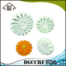 NBRSC Chrysanthemum Plunger Cookie Cutter Pastry Mould Unique Gifts for Little Girls