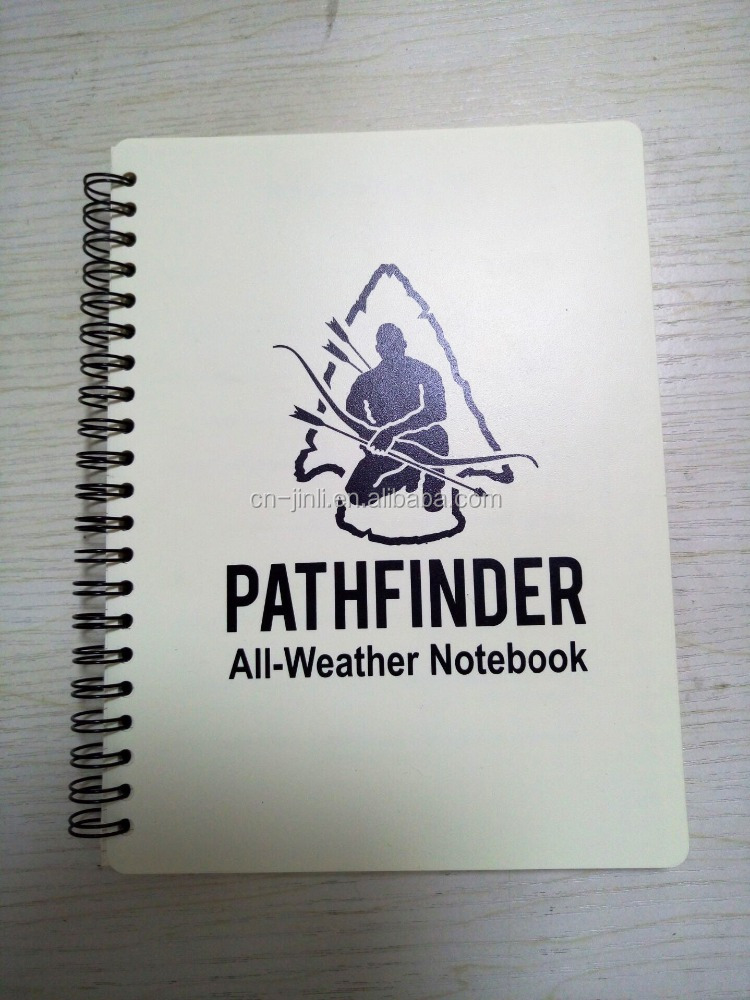 all weather outdoor waterproof notebook with pen