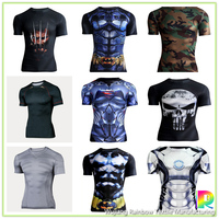 2017 OEM wholesale custom printed quick dry t shirt oem t shirts gym t shirt