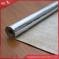 Low price hot selling rubber underlayment for indoor/outdoor carpeting