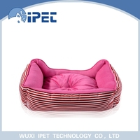 Puppy warm high quality plush animal shaped pet bed for small animals