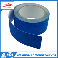 Shopping free samples sand grain coated Blue protection anti slip tape