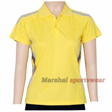 Badminton team jersey woman,latest fashion uniforms,wholesale badminton shirt cheap