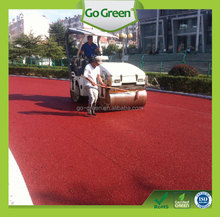Go Green coloured asphalt used for urban street / public park / bicycle lane