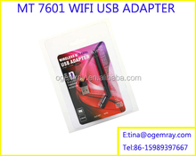 Mini USB 2.0 WiFi Wireless Adapter 150M Network LAN Card 150Mbps 802.11 n/g/b RT 7601 For Apple Macbook Pro Air Win Xp 7 8