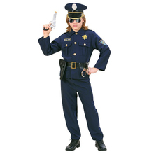 2017 most popular police costume for children