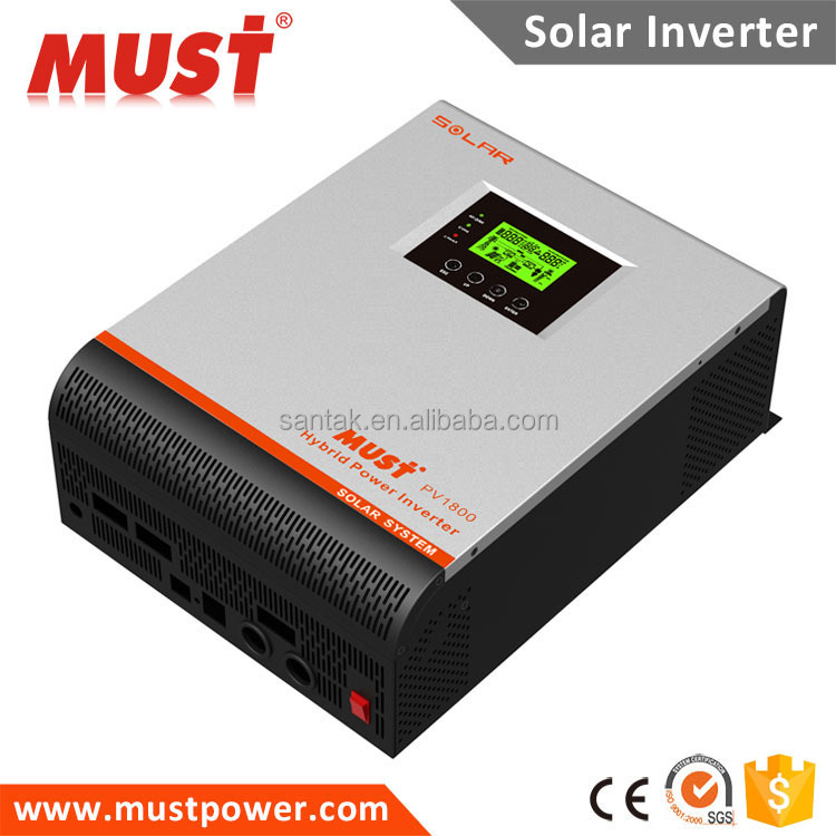 High Frequency 2KVA 1600W inbuilt 40A MPPT Off Grid Solar Inverter