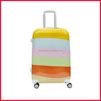 Chinese Product PC Travel Trolley Luggage bag and aluminium frame luggage for sale