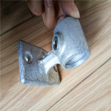 Galvanized 31yy rail support key clamp pipe fitting used for 34mm pipe furniture