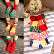 HW154 Children's socks wholesale cotton fashion lovely socks