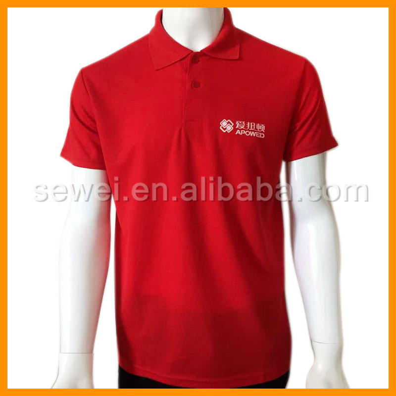 High quality cheap polyester polo shirt worker uniform for Where to buy polo shirts cheap