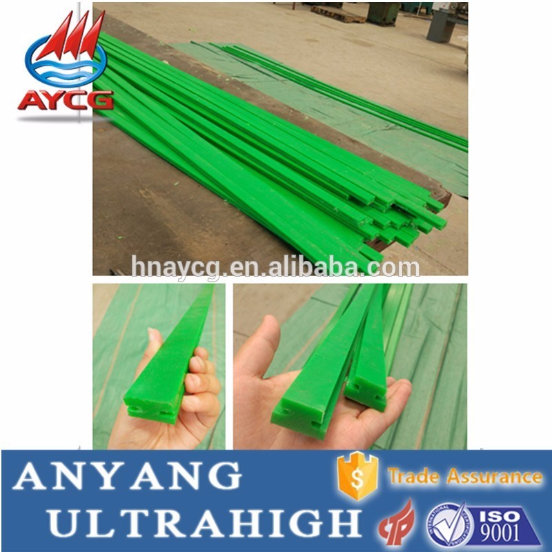 AYCG self lubrication customized plastic arc linear guide <strong>rail</strong> chain guide