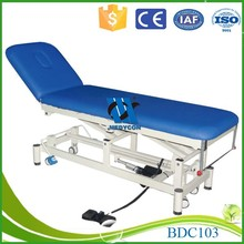 Electric medical examination table massage bed