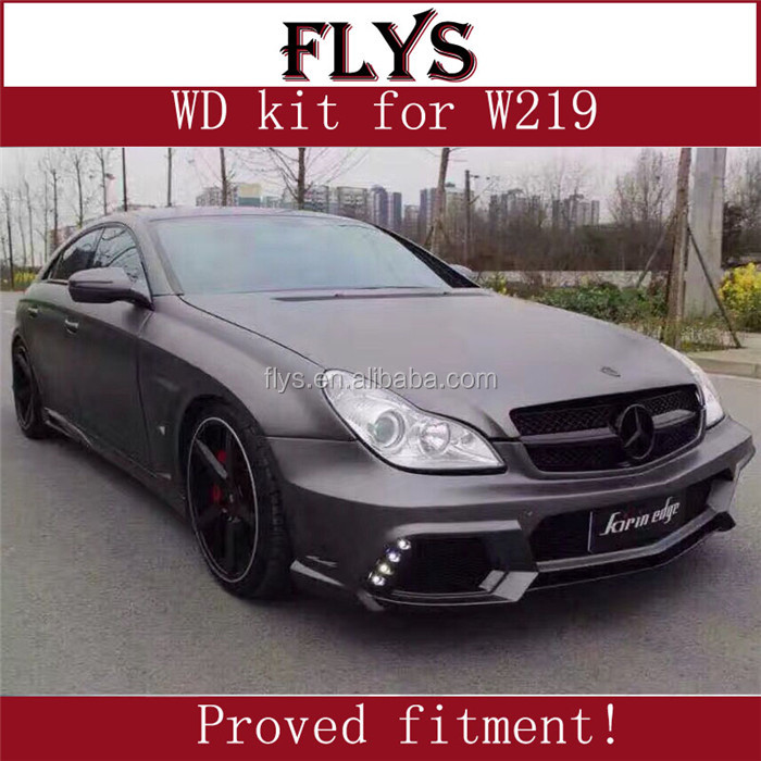 W219 body kit from factory Wald design. Cheapest price tested fitment high quality