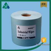 China suppliers Industrial Spunlace Nonwoven fabric Cleaning Wipe Roll