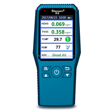 New private model Dienmern air quality meter HCHO TVOC TEMP HUM monitor PM2.5 PM10 measuring machine