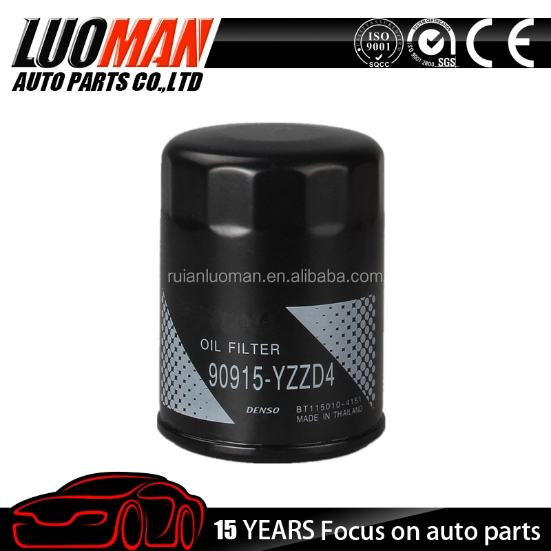 Auto oil filter 90915-YZZD4 for Toyota/Lexus OEM 90915-20004/90915-20002