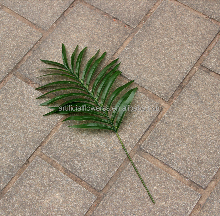 2015 wholesale silk artificial leaf plastic banana leaves for Artificial banana leaves decoration