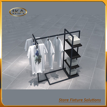Portable Fashion Dress Shop Display Racks