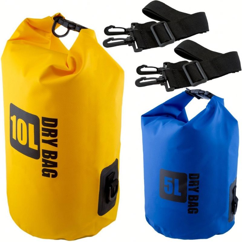 JH8089 60L Travel Waterproof Pouch Camping Dry Bag for Kayaking Canoeing Rafting Swim