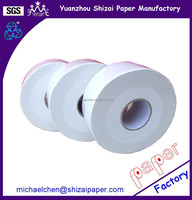 12 rolls Jumbo toilet paper, 2 ply in 100% virgin pulp