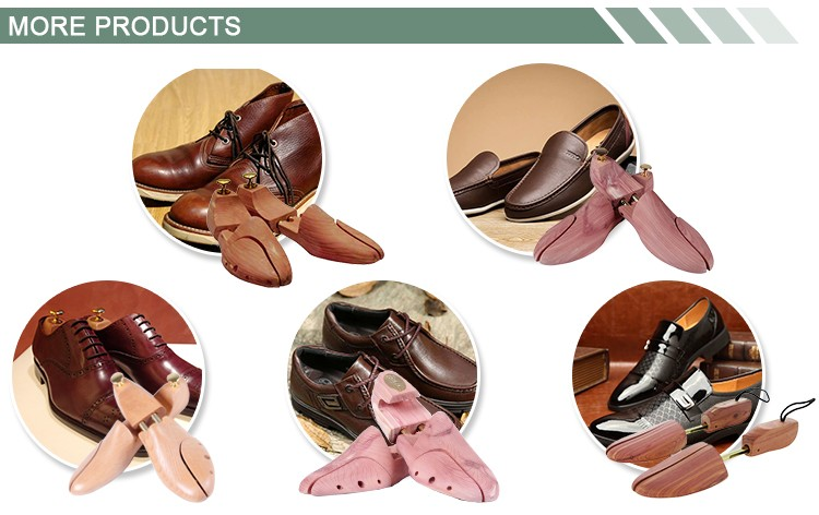 Hot Sale Fashion Custom Adjustable Metal Tubes Cedar Wooden Shoe Stretcher