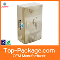 custom made high quality foldable plastic packaging pp box