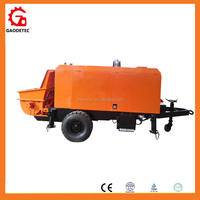 Hot sale China building construction machinery diesel pompe a beton cost