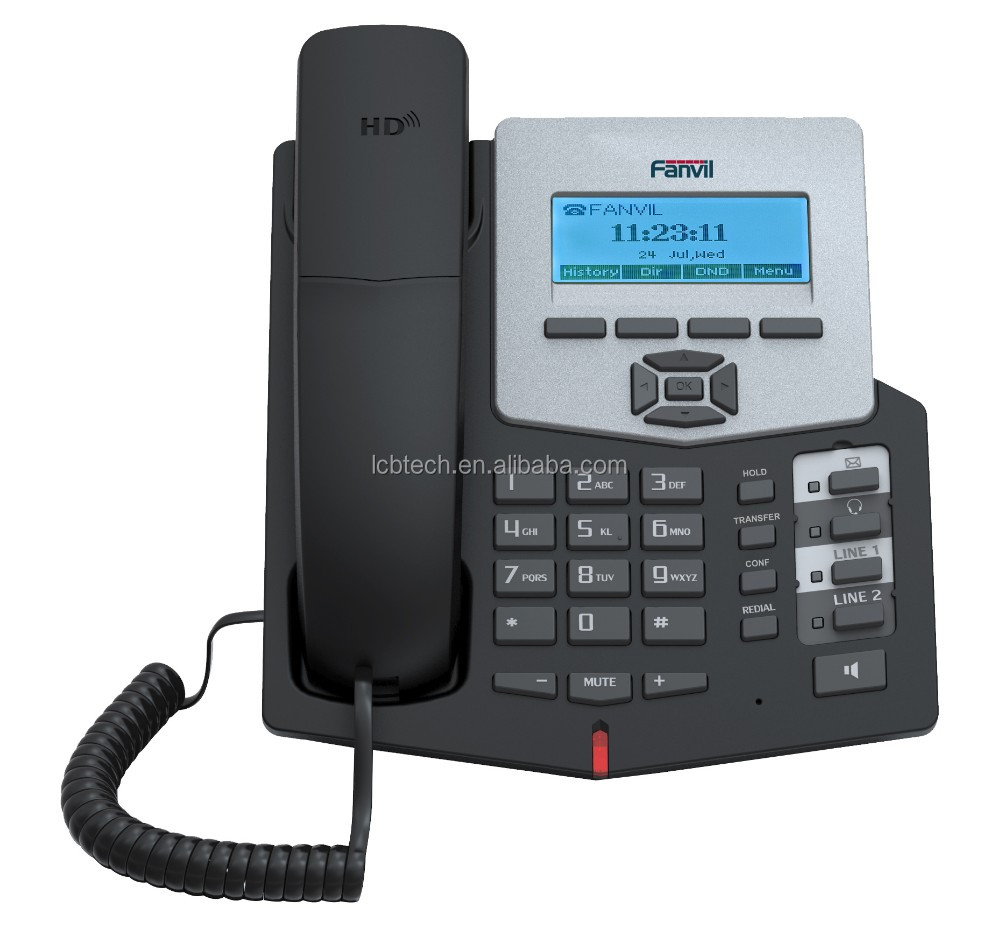 3 way-conference IP Phone Conference Phone VOIP phone Fanvil C58