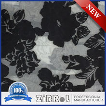 New 2017 Jacquard fabric flower organza style