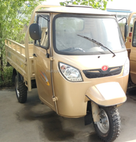Higher Output Stronger Chassis / Rear Axle / Tyres Close Cabin Cargo Tricycle MS300ZH-SCC