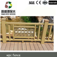 outdoor wpc fence/wpc handrail