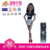11.5 inch Wholesale African American Fashion Girl Doll Custom Black Doll