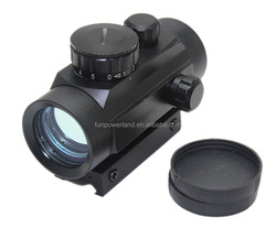 Funpowerland 1x30 red dot sight Hunting Scope 20mm/11mm picatinny/Weaver Rail Mount