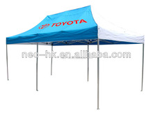 customer printed aluminum pop up exhibition display tent
