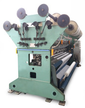 Single needle bar warp knitting machine raschel machine
