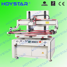 Semi automatic flat serigraph printing machine for glass