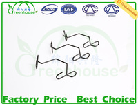 Hook spring clip for agriculture greenhouse