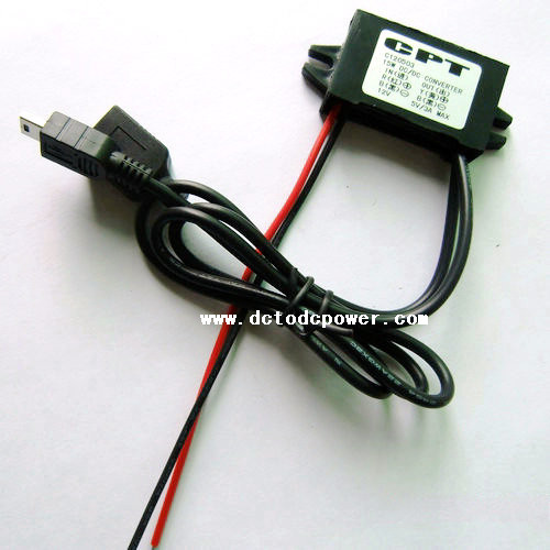 12V switch 5V3ADC-DC Buck Converter 12V car power supply switch 5V Dual USB car phone charger bn4