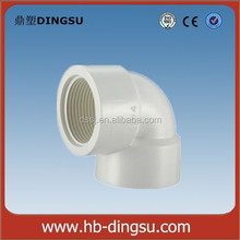 Plastic PVC Water Pipe Fitting 90 Degree PVC Bend / PVC Elbow