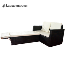 Sunbed sun lounger white rattan outdoor furniture outdoor garden furniture rattan heart daybed