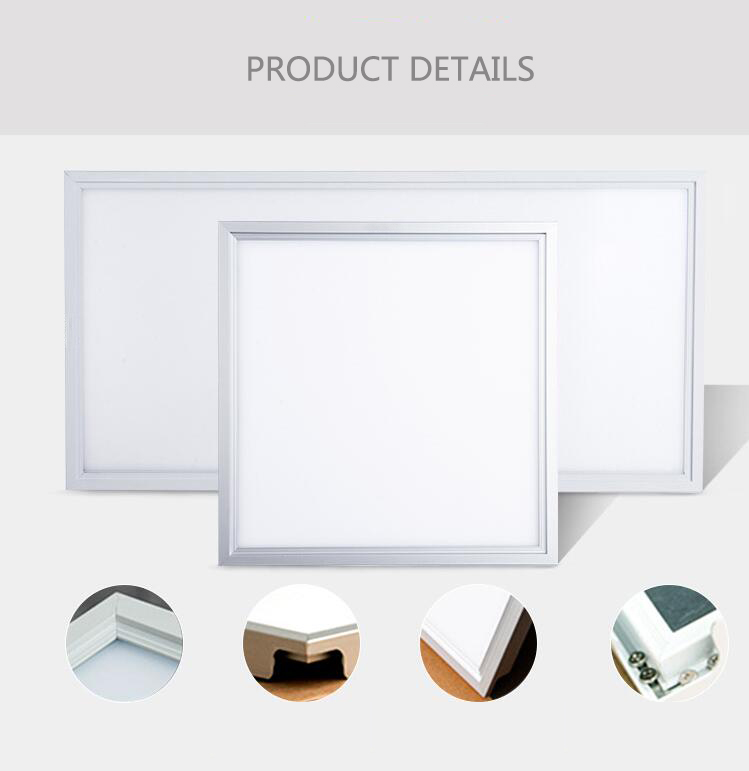 surface mounted flat ultra thin led light panel 595x595 40w ceiling led panel light 60x60